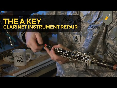 The A Key: Clarinet Instrument Repair