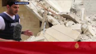 نحو 90 قتيلا بغارات على حلب وريفها