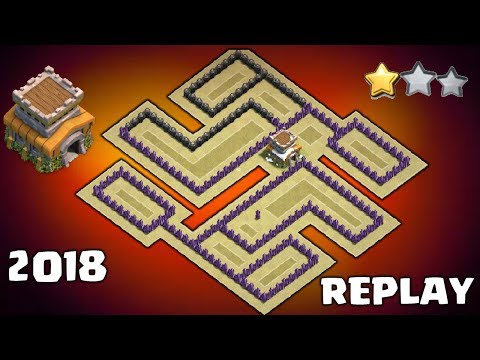 NEW TH8 WAR BASE LAYOUT 2018! TOWN HALL 8 BEST WAR BASES | CLASH OF CLANS