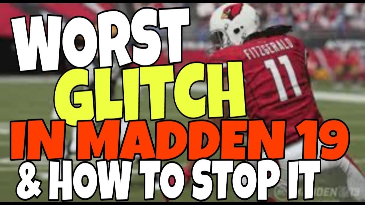 Madden19 Madden19gameplay Madden19glitch
