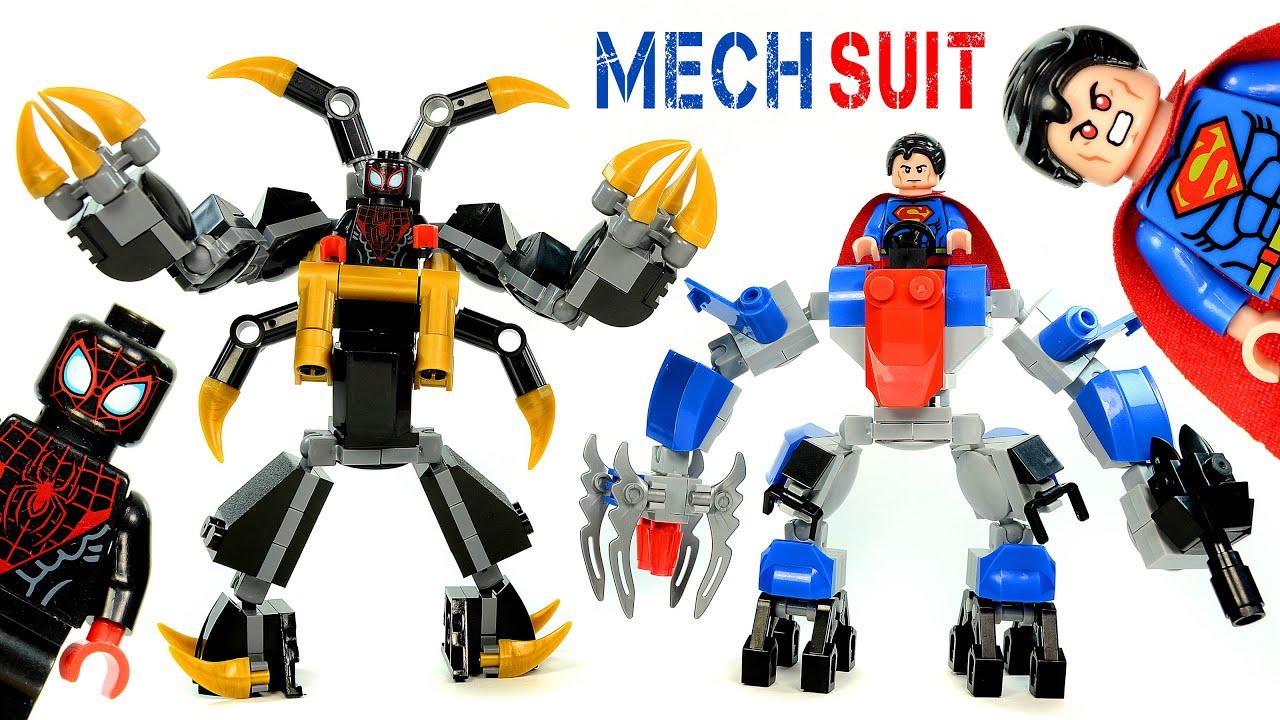 Superman Anti-Kryptonite & Spider-Man Anti-Venom Mech ...