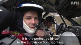 Didrik meet's Norwegian rally driver Petter Solberg with English subtitles