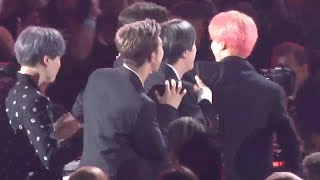 BTS Reaction when they won Top Duo/Group at the BBMAs 2019