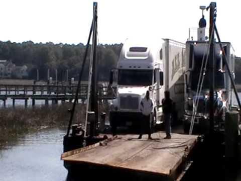 Daufuskie Island move tractor trailer
