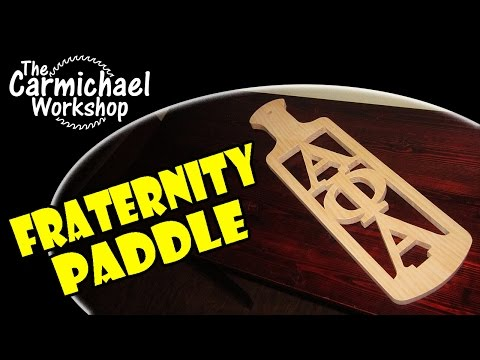 Fraternity Paddle Wall Decoration