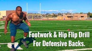 Cornerback and safety football drills