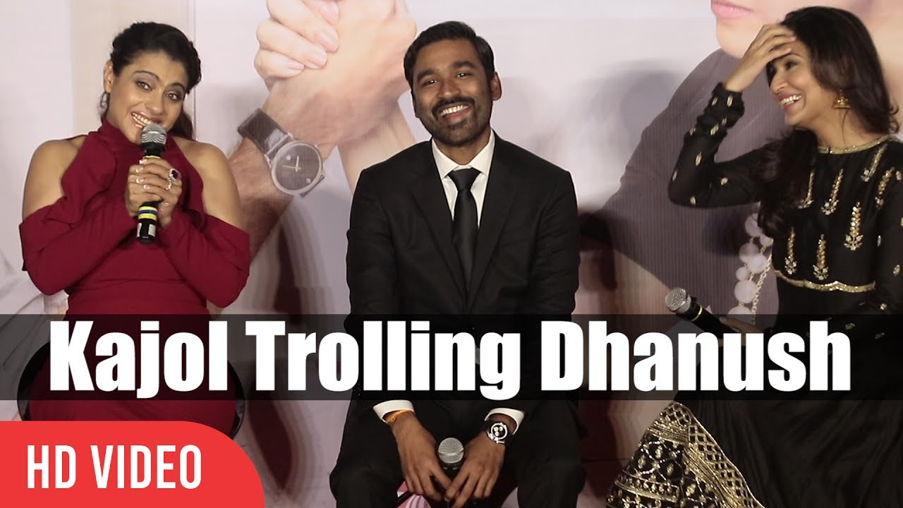 Illa Trol: Kajol Trolling Dhanush