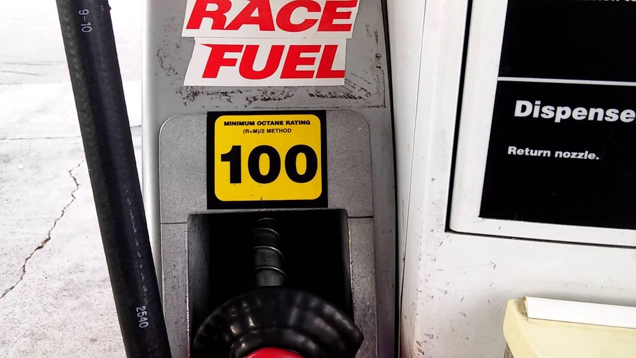 100 octane fuel - YouTube