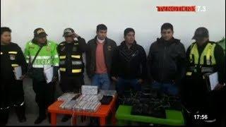 Policía de Puno decomisa más de 34 kilos de droga escondida en camioneta