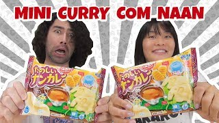 MINI COMIDA: CURRY NAN たのしいナンカレー (Tanoshii nan kare) - Japão Nosso De Cada Dia