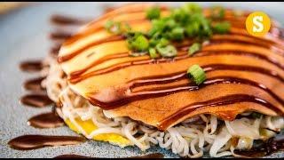 Okonomiyaki Recipe - SORTED Eats Japan