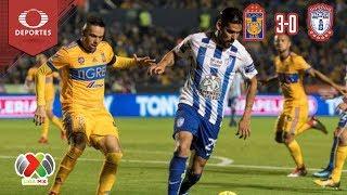 Resumen Tigres 3 - 0 Pachuca | Cl 2019 - Jornada 9 | Televisa Deportes
