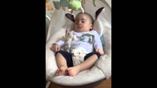 snoring on the swing
