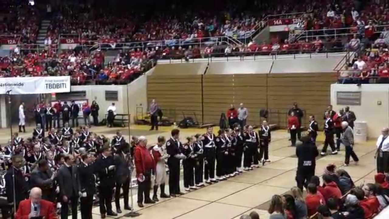 The Ohio State University Marching Band Skull Session 9/6 ...