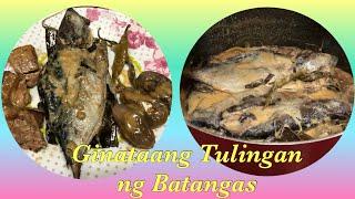 Ginataang Tulingan ala Batangas