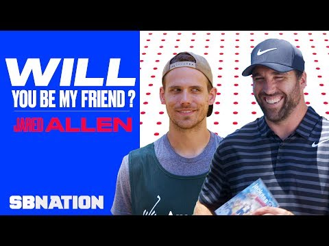 Jared Allen's patience is tested by his caddy | Will You Be My Friend, Ep 3