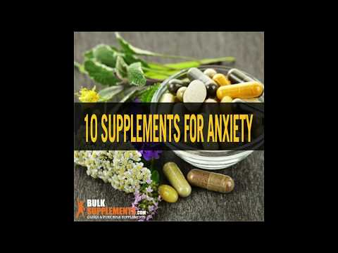 Supplements for Anxiety - natural supplements for anxiety - best supplements for anxiety