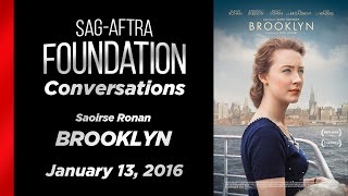 Conversations with Saoirse Ronan of BROOKLYN (in NY)
