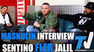 MASKULIN Interview Fler, Jalil & Sentino: Tour Vision, Cro, Böhmermann, Unterwegs, DJ, Ästhetik, Ali