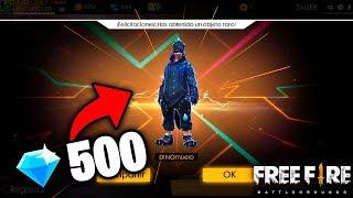 !SE PUEDE OBTENER El DINO con solo 500 DIAMANTES? - Free Fire | AlexGo