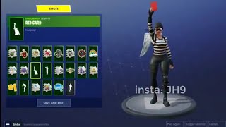 "*NEW* GESTO OR BAILE called ""RED CARD"" or ""RED CARD"" in FORTNITE (Coming Soon)"