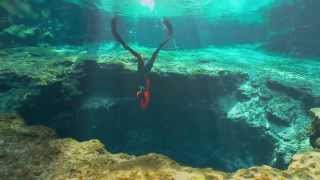 Apnea -  Immersione alle grotte di Ginnie Springs  - Freediving