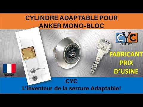 anker serrure cle changer votre cylindre en 7 minutes par. Black Bedroom Furniture Sets. Home Design Ideas