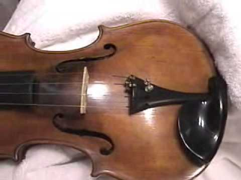 Antique Violin For Sale - Josef Klotz Violin Mittenwalde Anno 1795