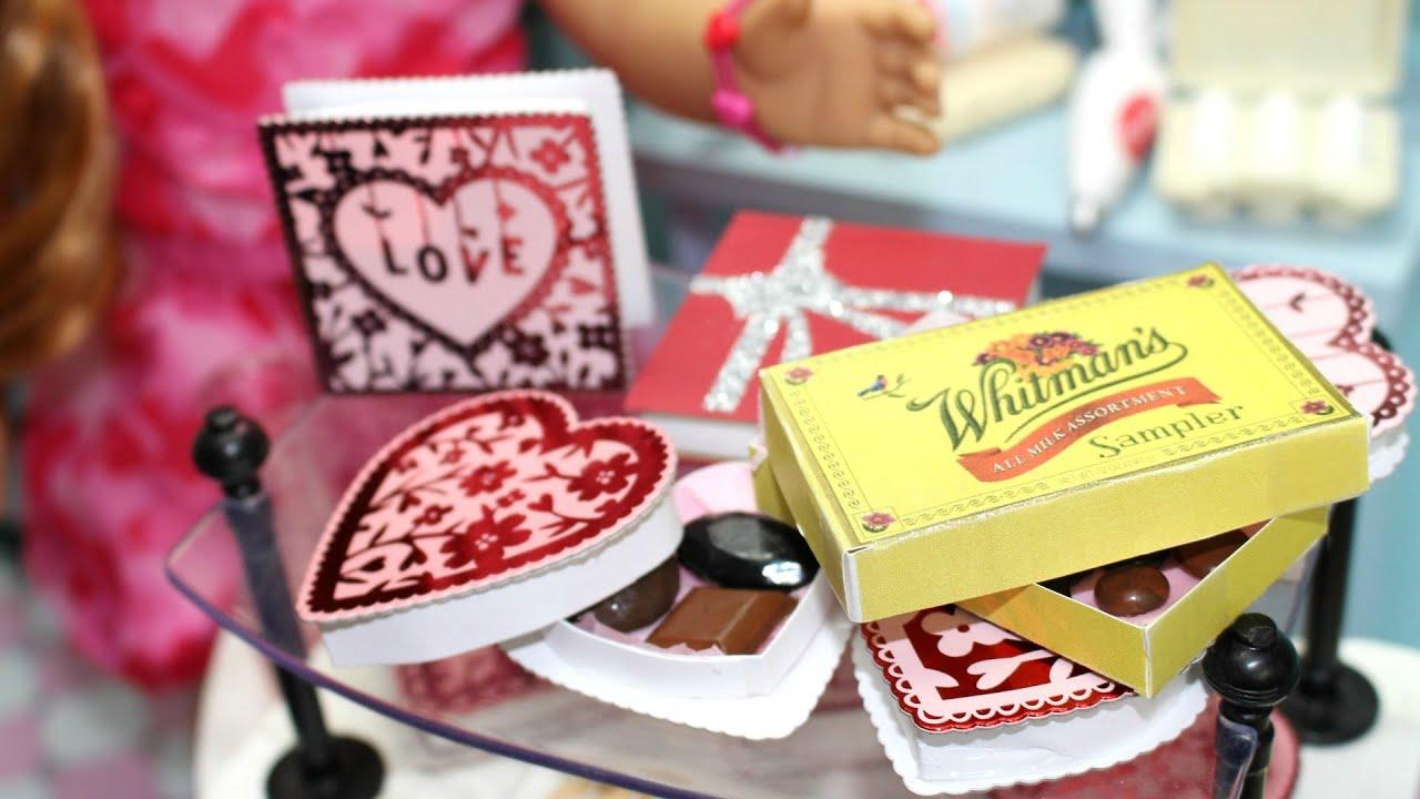 Diy American Girl Doll Valentine S Day Candy