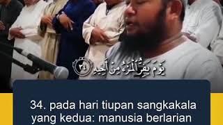 [KIAMAT] Firman Allah SWT !!!