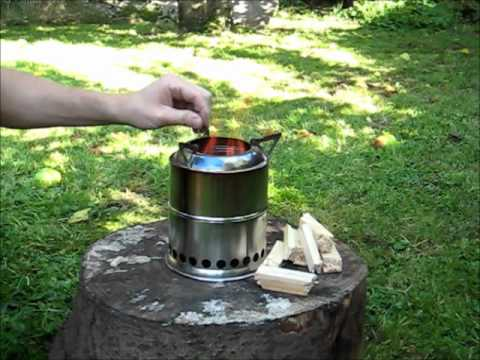 Wild stoves woodgas camp stove