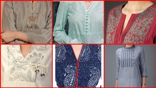Amazing Casual Neck Design For Kurti 2019 || Latest Neck Design Collection For Kurti