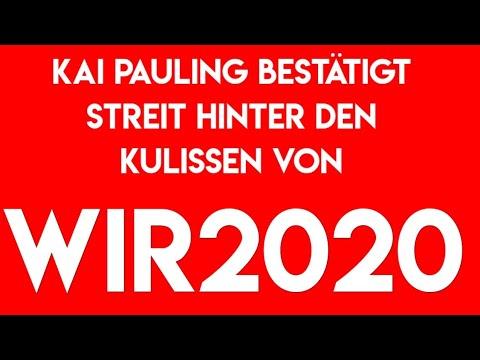 Kai Pauling bestätigt Streit hinter Wir2020 Kulisse - Activinews Analyse offenbar richtig