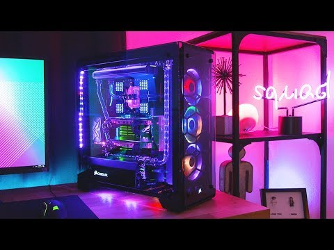 Download Youtube: The Ultimate $7,500 RGB Threadripper 1950X Build! (Water Cooled!)