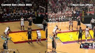 NBA 2K14 Xbox 360 vs PS4/Xbox One | Jeux vidéo par Gamekult