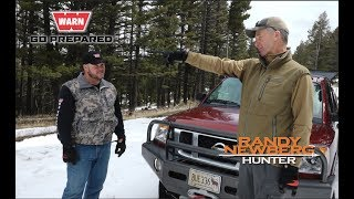 How to Winch your Truck Backwards with Warn Winches