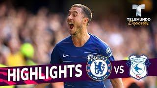 Chelsea vs. Cardiff City: 4-1 Goals & Highlights | Premier League | Telemundo Deportes