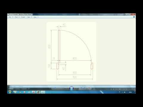 Cara Membuat Pintu di Autocad - Tutorial Autocad.