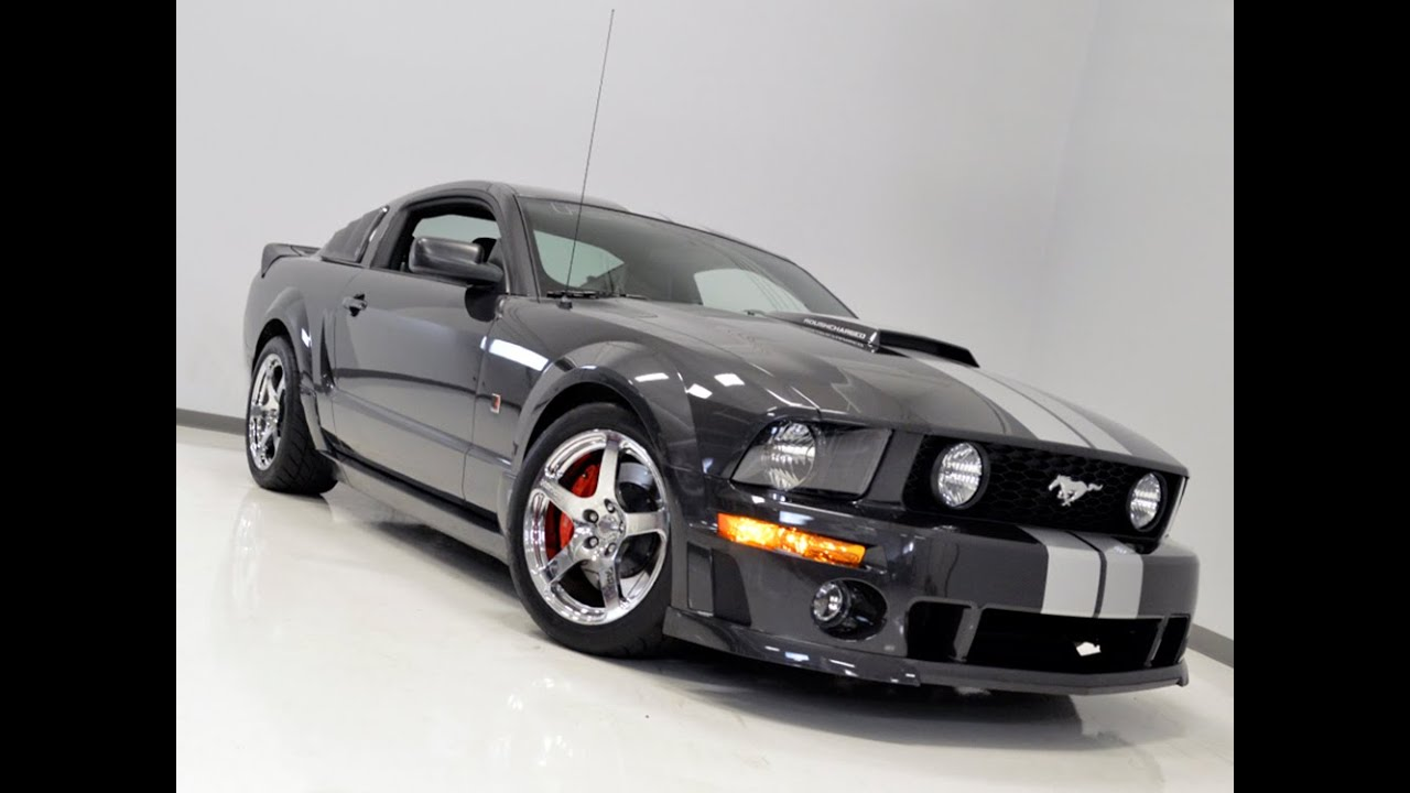 113056 2007 roush stage 3 mustang sold youtube. Black Bedroom Furniture Sets. Home Design Ideas