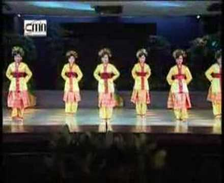 Rentak Besapih Dance - Jambi, Sumatra, Indonesia