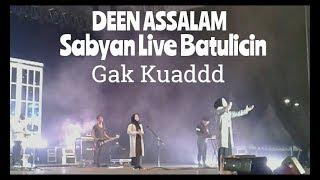 Download Lagu SABYAN GAMBUS - DEEN ASSALAM Live Batulicin Mp3