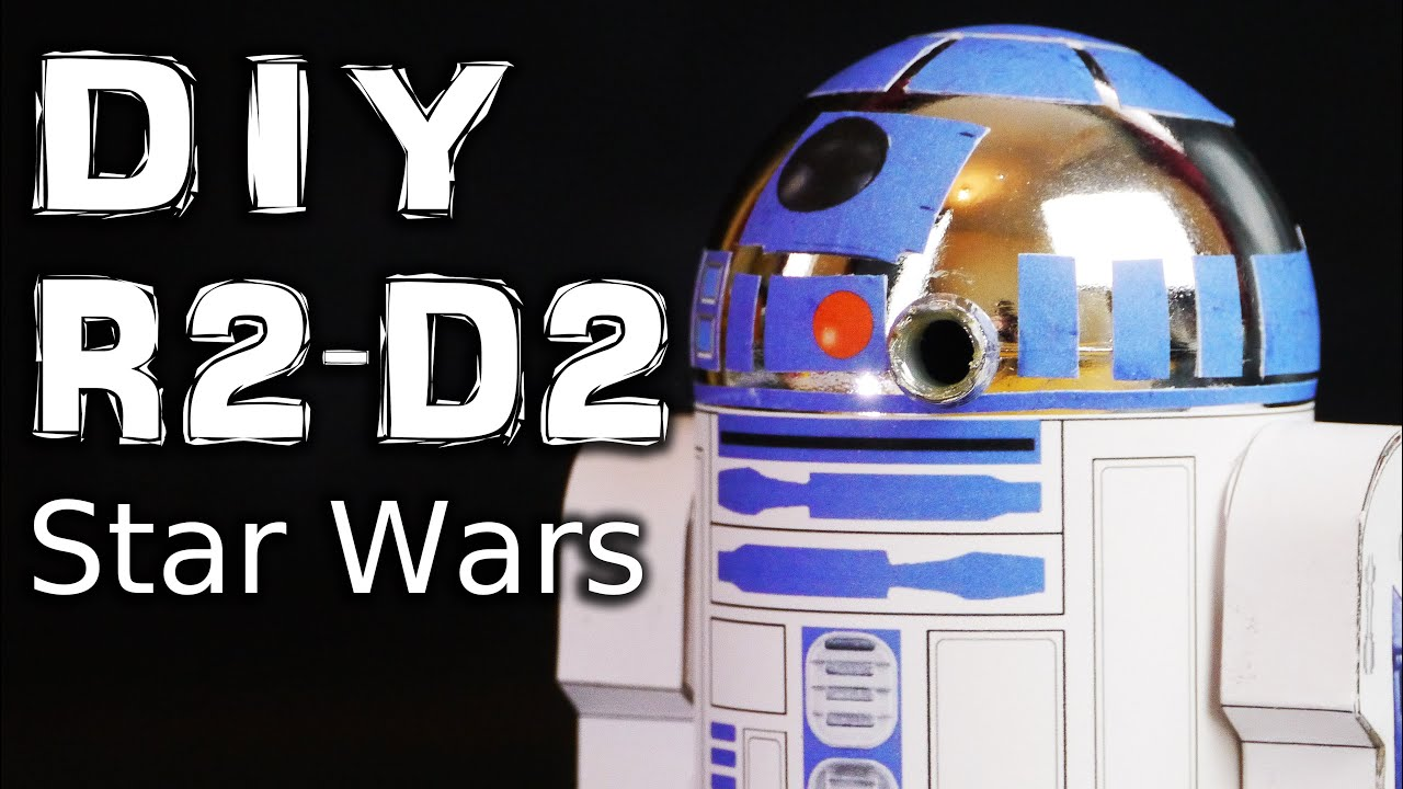 Make R2 D2 Star Wars Model Form A Christmas Ornaments Youtube