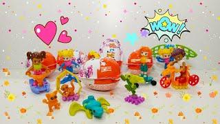 Обзор Киндер Джой Инфинимикс №2 для девочек, прикольные игрушки от Киндер Сюрприз. #KinderJoy.