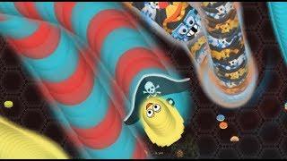 WORMATE - ОБЖОРА ЧЕРВЯК Новые Весенние Скины игра клон SLITHER IO И WORMAX IO