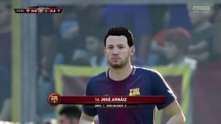Albacete @ fc barcelona b - fifa 18 simulation full game 19/12/17