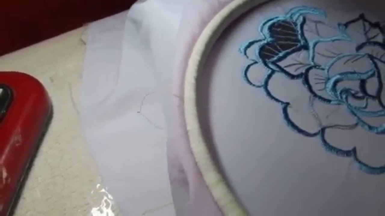 Видео урок вышивка на машинке