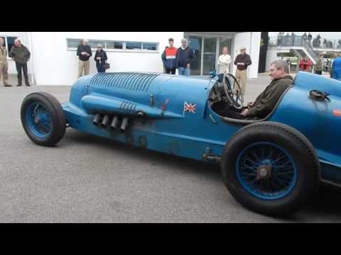 Napier Blue Bird 1932, Benjafield Sprint, Goodwood