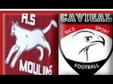 Match U15 pré-excellence AS Moulins - Cavigal Nice 23.11.2014