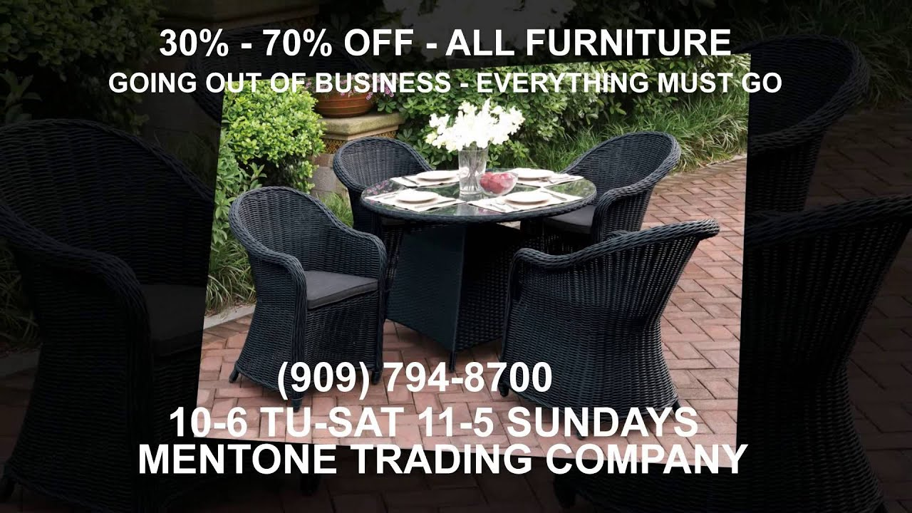 Outdoor furniture sale mentone ca 909 794 8700 mentone trading company