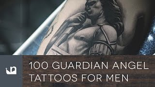 Video 100 Guardian Angel Tattoos For Men download MP3, 3GP, MP4, WEBM, AVI, FLV Agustus 2018